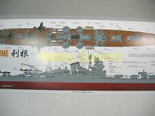 Tamiya 1/350 WWII Japanese  IJN  TONE  Heavy Cruiser   w/  Photo-Etch # 78024