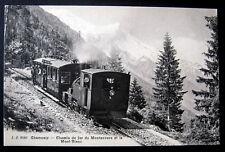 FRANCE~1900's Chamonix~Chemin de fer du Montenvers