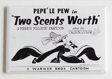 Pepe Le Pew FRIDGE MAGNET (2 x 3 inches) movie poster skunk cat