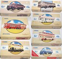 CORGI Commercials 97052 98600 97233 97230 97824 97335 98455 98456 Bus / Truck
