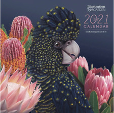 2021 Calendar_Australian Native Wildlife & Flowers_Aussie Artist_30x60cm_Large