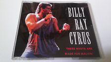 "BILLY RAY CYRUS ""THESE BOOTS ARE MADE FOR WALKIN' "" CD SINGLE 3 TRACKS"