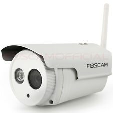 Foscam FI9803P 1.0MP 720P Wireless Wired IR Waterproof Home Security IP Cameras