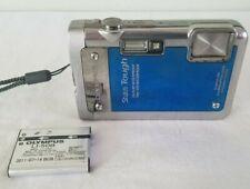 Olympus Stylus Tough 8010 14.0MP Waterproof Digital Camera - Blue *FAIR*