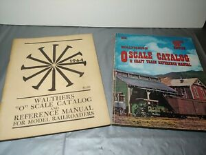 2 Vintage O Scale Walthers 1964 & 1980 Catalog great reference  vintage world