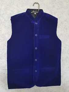Waistcoat Velvet  for Men's / Kids in different sizes (Free post in UK)