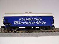 MÄRKLIN MINICLUB 8603 Bierwagen KULMBACHER (35216)