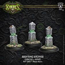 Hordes: Circle Orboros - Shifting Stones - Unit (Metal) PIP72016 NEW