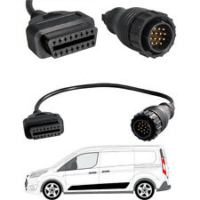 14 Pin to 16 Pin OBD2 Diagnostic Adapter Cable for Volkswagen VW LT Typ 2D Van