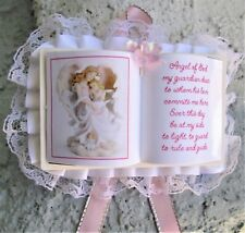 PINK OPEN BIBLE BAPTISM Party Favors  24 Pc