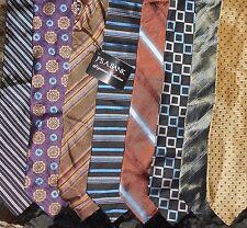 Jos. A. Bank LOT of 8 Premium Brand Men Silk Neckties NWT or NEW (LOT 2380)