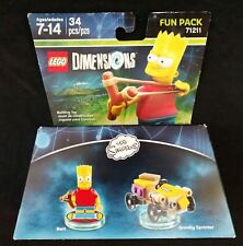Lego Dimensions The Simpsons Bart 3 in 1 Fun Pack  71211