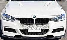 CARBON FIBER FRONT LIP SPOILER FOR BMW F30 M-TECH 320i 328i 335i 12UP b120