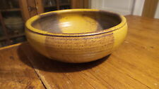 1970's POTTERY BOWL by CHARLES HALLING Warren Mackenzie Student Northfield,MN