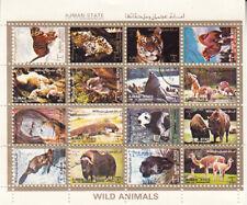 Ajman 1973 Wild Animals Miniature Sheet MNH CTO