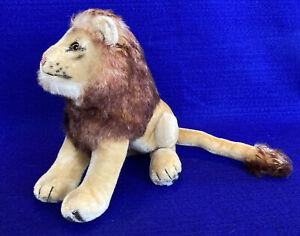 Vintage Steiff Lion sitting - Wonderful Condition-Clean! 50's
