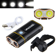 Super Bright 6000LM 2X XM-L2 LED 18650 Battery Bicycle light Front Lamp Headlamp