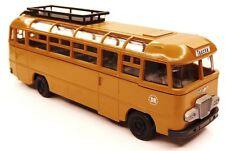 H0 Bus Reisebus IKARUS 311 Deutsche Reichsbahn DR Zielort Taucha DDR rehbraun