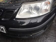 Saab 93ss 93 Aero 93 Headlight Washer Cover In Black Pair Left + Right