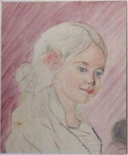 Peintures du XXe siècle et contemporaines sur panneau personnage