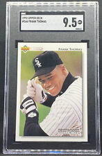 1992 Upper Deck Frank Thomas #166 Chicago White Sox 2nd Year SGC 9.5 Mint+