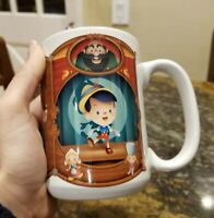 Walt Disney Parks Pinocchio Cuties Character Ceramic Mug Geppetto Jiminy cricket