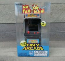 Tiny Arcade Ms. Pac-Man Mini Retro Arcade Video Game - New Sealed - Ships Fast!