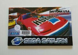 Daytona USA - Sega Saturn Manual Only - Free AUS Post