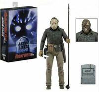 """NECA Friday the 13th Part 6 Jason Lives Ultimate Jason Voorhees Action Figure 7"""""""