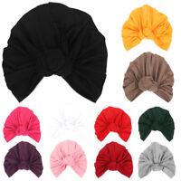 Women's Fashion Twist Knot Bonnet Hijab Turban Cap Beanie Hat Head Scarf Wrap