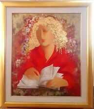 """Arbe - """"Passages"""" Original Oil on Canvas. Hand Signed,framed with Certificate"""