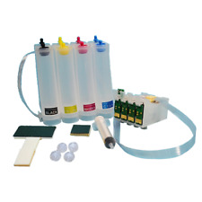Ciss continuous ink for with Epson WF-7715, WF-7210 Dye Pigment sublimation