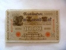 1000 mark Germany 1910 banknote free shipping