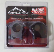 Warne 7202M 1' high height scope rings