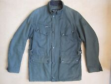 Barbour International Colomer Wax Jacket AW12, Sage Green, Size M, VG Cond