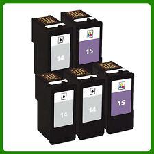 5 Ink Cartridge for NO.14 NO.15 Z2300 X2600 X2670 Z2310 X2630 Z2320 X2650