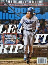 October 30, 2017 Justin Turner Los Angeles Dodgers Sports Illustrated NO LABEL