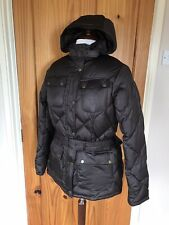 Ladies Barbour International Brown Nation Down Quilted Jacket- Size 16 - BNWOT