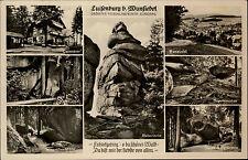 Luisenburg bei Wunsiedel Fichtelgebirge Bayern 1940 Hardenberg Grotte Gaststätte