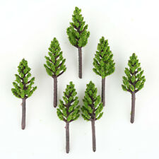 100pcs Model Pine Trees Deep Green For N Z Scale Layout 38mm New