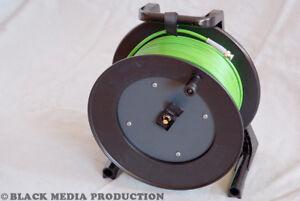 BNC HD-SDI Video Kabel SC-Vector 0.8/3.7 grün auf Trommel   Damar & Hagen *NEU*