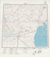 Russian Soviet Military Topographic Maps – SHALKAR (Kazakhstan), 1:1Mio, ed.1972