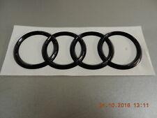 Original Audi A3 8V R8 Q2 TT  Emblem Ringe Schriftzug Heckklappe Motorhaube vorn
