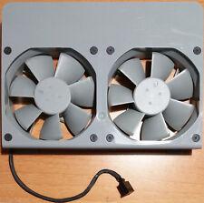 Apple Power Mac G5 ( A1047 models ) Dual Rear Exhaust Fan Assembly p/n 076-1047