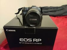 Canon EOS RP body + RF 24-240mm lens (not original kit) - Mint in Box Camera