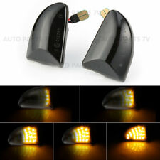 2x LED Sequential Smoked Side Marker Signal Light Dynamic for Smart Fortwo W451