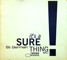 St Germain Maxi CD It's A Sure Thing Part 2 - Europe (VG+/VG+)