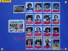 Panini★WM 1986 WorldCup WC 86★Team Portugal Komplett-Satz /Portugal complete set