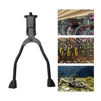 Double Leg Bicycle Stand Kick Kickstand Parking Rack Mountain Bike Side Support