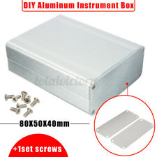 110*88*38mm Electronic Split Body Extruded Aluminum Box Enclosure Case Project
